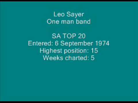 Leo Sayer - One man band.wmv