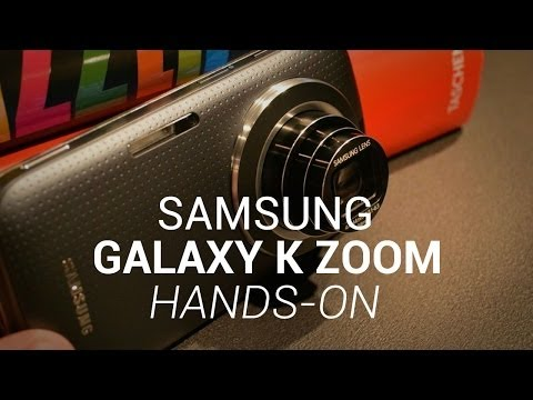 Samsung Galaxy K Zoom Hands-On