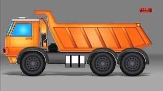dumpster Xe tải | Sự hình thành và Sử dụng | Truck For Kids | Formation and Uses | Dumpster Truck