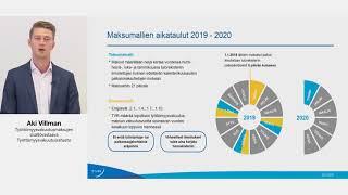 Tulorekisteri -webinaari 29.5.2018 / Aki Villman: Työttömyysvakuutusmaksuja ajantasaisemmin