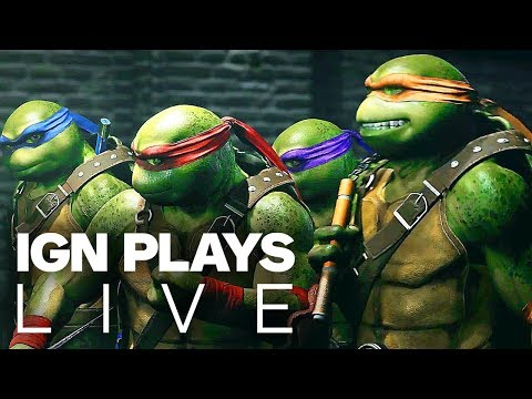 Injustice 2 Teenage Mutant Ninja Turtles DLC Gameplay - IGN Plays Live