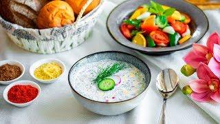 4 летних супа. Популярные рецепты от Всегда Вкусно!