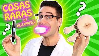 Probando 7 COSAS RARAS BARATAS De Aliexpress | ¿Funciona Con Mike? Curiosidades Con Mike