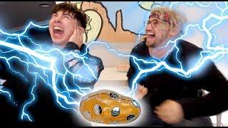SHOCK POTATO CHALLENGE with JC!!
