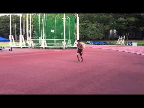 日本歴代6位から技術を盗め!走高跳ドリル