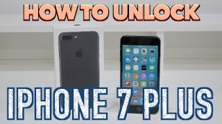 How to Unlock iPhone 7 Plus (+) ANY NETWORK (Sprint, Verizon, AT&T, T-Mobile, Boost Mobile, etc)
