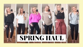 CURVY PETITE SPRING TRY ON HAUL 2020 | PINK BLUSH COLLABORATION | Laura-Lee