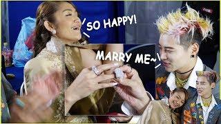 Gambar cover GTI Aoora siap siap cincin untuk minta nikah kepada Siti Badriah !