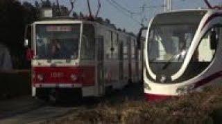 North Korea reveals its home made trams