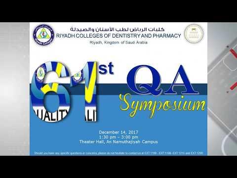 61st QA Symposium - Part 1