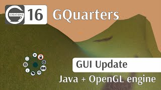 LWJGL (OpenGL) + JAVA - #16 General GUI update!