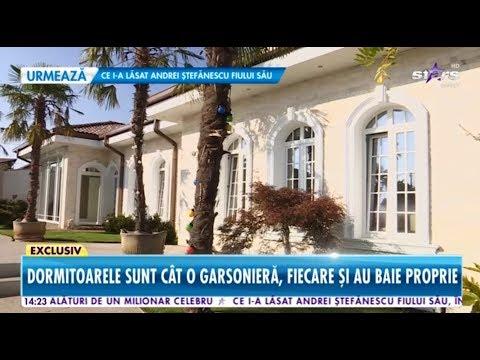 Milionarul român care deţine o vilă ca la Hollywood! Imagini exclusive cu fabulosul domeniu