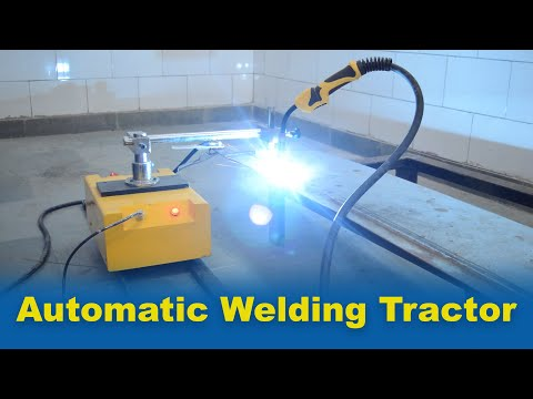 Automated Welding and Cutting Tractor