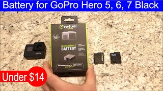 Re-Fuel replacement battery for GoPro Hero 5, 6, 7 black, it's really worth it? Review