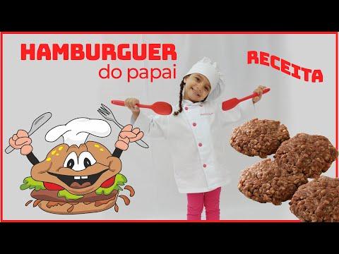 #Receita? de hambúrguer artesanal