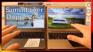 ODYS myBook 14pro ✔ ODYS Winbook 13 [ Notebook Doppeltest ] Laptop Schnäppchen Vergleich - Top Tipp