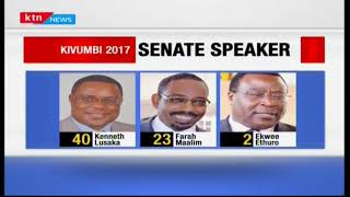 Ken Lusaka elected as the new senate speaker with a majority of 42 votes