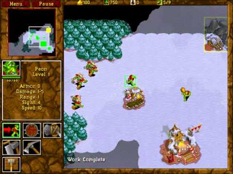 Warcraft Ii Tides Of Darkness Walkthrough Warcraft 2 Tides Of Darkness Orc Campaign Mission 1 By Cire2047 Game Video Walkthroughs