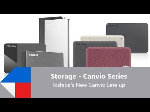 Toshiba Canvio Basics USB-C (2TB)