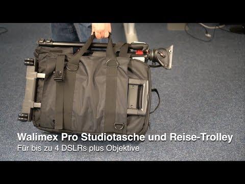 Walimex Pro Studiotasche und Reise-Trolley - Groß, leicht, robust