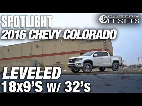Spotlight - 2016 Chevy Colorado, Leveled, 18x9 +18's and 32's