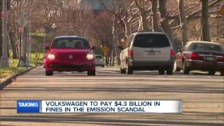 Volkswagen to pay $4.3 billion in fines in the emission scandal