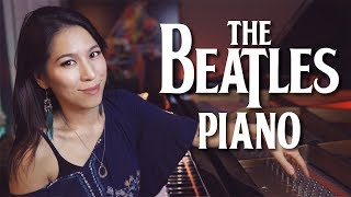 I Want You (She's So Heavy) Beatles Piano Cover with Improvisation | Bonus Vocal Cover