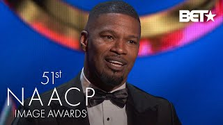 Jamie Foxx Wins Supporting Actor In A Motion Picture Award! | NAACP Image Awards