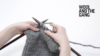 Un-knitting or tinking