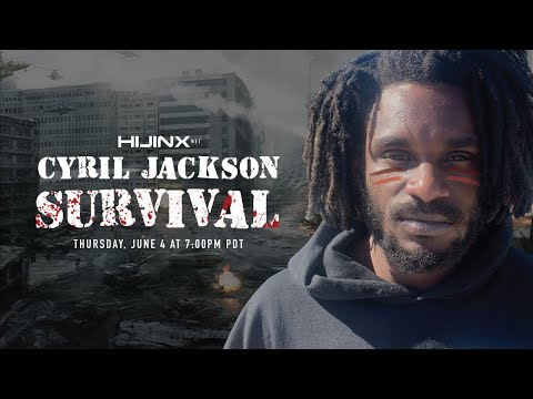 """preview image for Cyril Jackson's """"SURVIVAL"""" Full Length Part"""