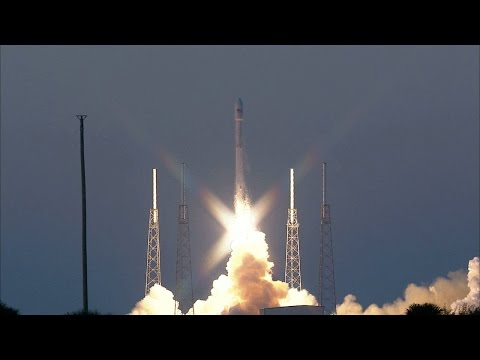 DSCOVR launch video