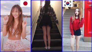 Gambar cover Tik Tok Global Videos ❤️ Tik Tok Japan Vs Tik Tok Korea P1