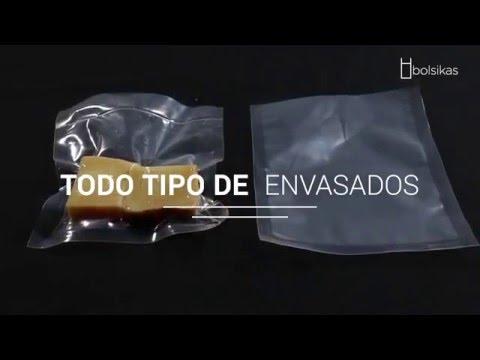 Bolsas para envasado al vacío (Bolsikas)