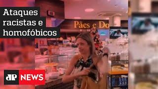 Mulher é detida após cometer ataque homofóbico e racista dentro de padaria em São Paulo