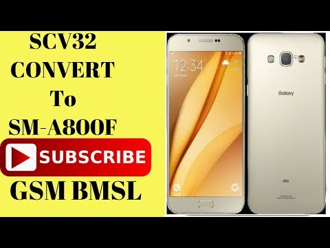 Galaxy A8: SM-A800S (Korean) Converted into SM-A800I