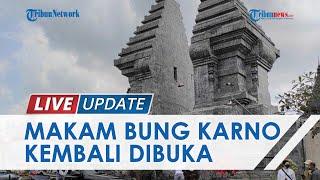 Uji Coba Pembukaan Wisata Makam Bung Karno Blitar, Pengunjung Masuk Bergantian Maksimal 25 Orang