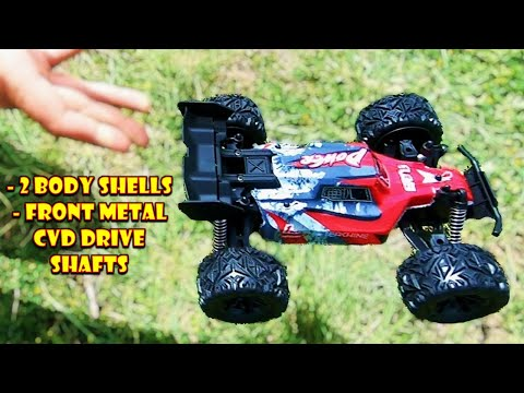 Inexpensive RC Car gift idea That comes with 2 Body Shells - Eachine EAT13