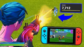 BEATING PC Players on NINTENDO SWITCH in Fortnite...