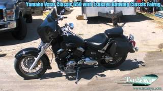 Yamaha V- Star Classic with Tsukayu 6x9 Fairing - Самые