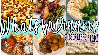 cooked meals-whats 4 dinner