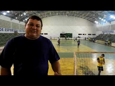 Inicio do Campeonato Municipal de Futsal 2018