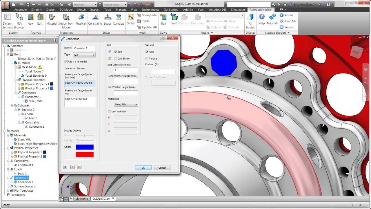 Autodesk Nastran In-CAD License - Cadac Group