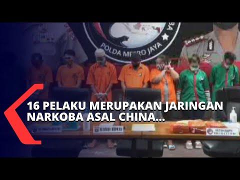 gagalkan peredaran kg sabu polisi berhasil menangkap sindikat narkoba jaringan asal china ini