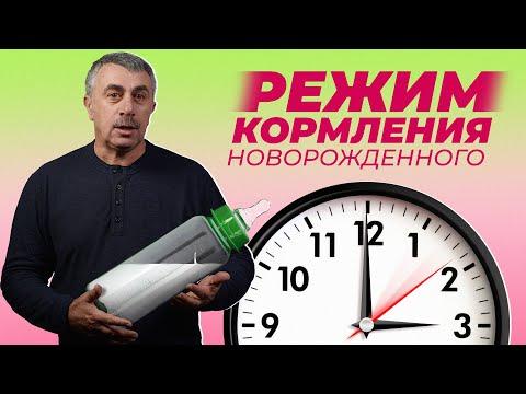 Самый лучший режим кормления новорожденного - Доктор Комаровский
