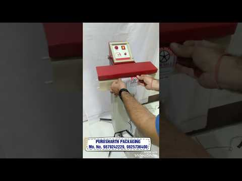 Pedal Operated Bag Sealing Machine