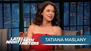 Tatiana au Late Night With Seth Meyers - juin 2016