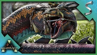 THE EASIEST WAY TO TAME A BASILISK! - Ark: Survival Evolved [Cluster E52]