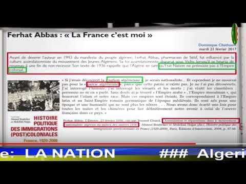 Rafaa: se faire salir chez djilou et se nettoyer chez Algerien-libre! LA NATION