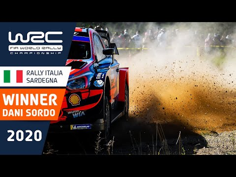 優勝したヒュンダイのダニー・ソルドにフォーカスしたWRC ラリー・イタリア・サルディニア ダイジェスト映像