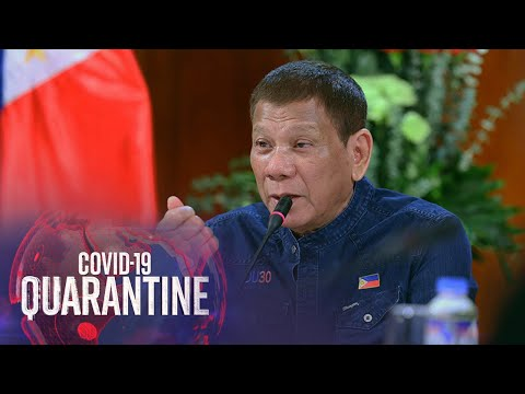 [ABS-CBN]  Duterte: Military to distribute COVID-19 vaccines; poor to be immunized first | ABS-CBN News